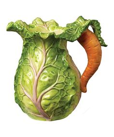 Another great find on #zulily! Cabbage Pitcher by Kaldun and Bogle #zulilyfinds