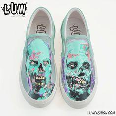 WALKERS  the walking dead shoes zombie walkers rick by LUWfashion
