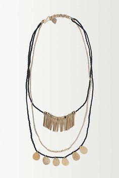 Gilded Trinket Necklace