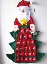 Resultado de imagen de adornos navideños calendario Diy Christmas Gifts, Holiday Decor, Advent Calendar, Home Decor, Gift Ideas, Google, Image, Tela, Christmas Ornaments