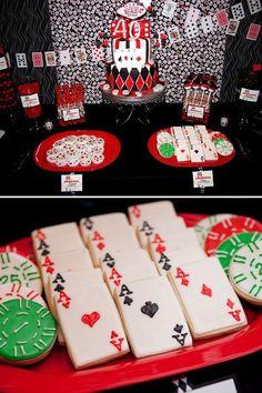 Las Vegas Party Theme Festa Gangster Casino Night