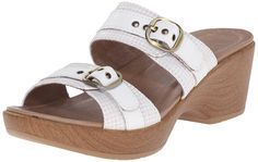 Dansko Women's Jessie White Multi Wedge Sandal * Insider's special review you can't miss. Read more  : Wedge sandals
