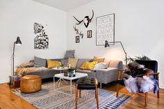 Fabulous Danish modern apartment - design attractor