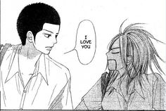 Chizu and Ryu | Kimi ni Todoke---- is she really that surprised?