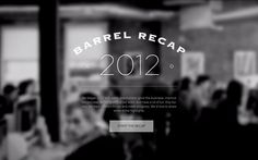 Our team made a site highlighting some of the things that happened at our agency in 2012. We're a digital agency in New York City.  Check it out: http://barrelny.com/recap/2012/