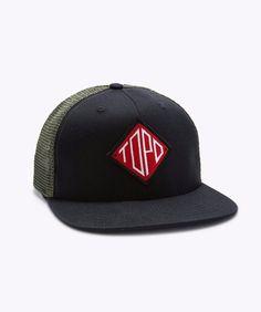 22556a6a6fd TOPO Designs Snapback Hat Black Diamond
