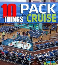 Planning to travel on a cruise? Here's a list of 10 things you should pack. - SahmReviews.com