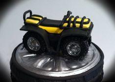 Fox Racing Cake With Gumpaste 4 Wheeler Fox racing cake. With gumpaste 4 wheeler.
