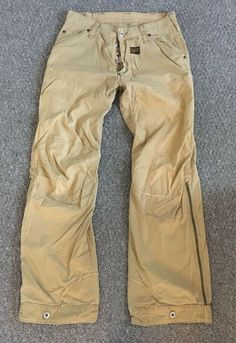 a01983e494e MENS G-STAR GSTAR RAW ELWOOD CHINO CARGO PANTS JEANS W30 L32 BEIGE COMBAT  #fashion #clothing #shoes #accessories #mensclothing #jeans (ebay link)