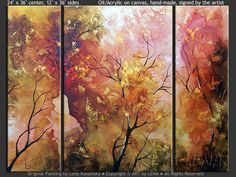 forest paintings - Google Search