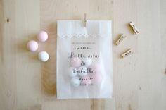 Kit 10 sacchetti per confettata personalizzati - carta pergamino : Altra cartoleria di pearls-to-pigeons