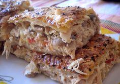 Σήμερα έχουμε την τιμή να φιλοξενούμε στο blog μας τη συνταγή μιας αγαπημένης μας φίλης. Η Βάσω Β. μας έφτιαξε την μοναδικ... Kfc, Cookbook Recipes, Cooking Recipes, Pie Recipes, Recipies, Food Network Recipes, Food Processor Recipes, Greek Pastries, The Kitchen Food Network