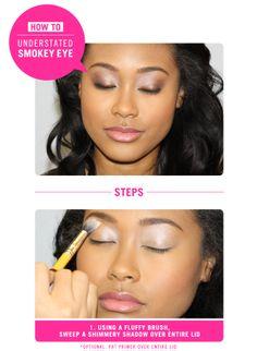 How to: Do an Understated, Smokey Eye