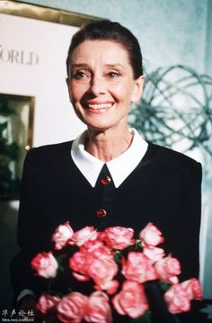 Audrey Hepburn. What beautiful, talented and wonderful person she was.