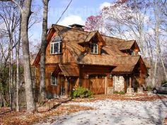 Swoon! Another log cabin home in N.C. Norm would love this one too.