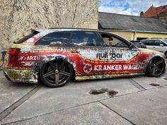 💥 The last photos of Kranker Wagen before the new design 2k21 💨 Wrapped: @folienfx 👌 Photos: @photobymelzi 📷 Design by TTStudio.ru ✍️ #ttstudioru #folienfx #audi #rs6 #quattro #krankerwagen #low #deep #artcar #wrapped #wrapdesign #customwraps #customgraphics #carwrap #cardesign #wrapping #wrap #carwraps #vinylwraps #carwrapping #folie #foliedesign #carfolie #vehiclewraps #nullbar #sourkrauts #photobymelzi