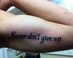 The tattoo might be something you got while slightly tipsy on holiday. | 19 Things You'll Understand If You Have A Crap Tattoo