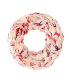 - All over dragonfly print- Circle scarf design- Soft finish