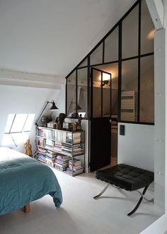 Big industrial windows / Verrière pour séparer deux pièces