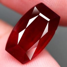 7.20CT.INTERESTING! FANCY CAB TOP BLOOD RED NATURAL RUBY MADAGASCAR #GEMNATURAL