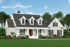 Country Style House Plan - 3 Beds 2.00 Baths 1685 Sq/Ft Plan #929-344 Exterior - Front Elevation