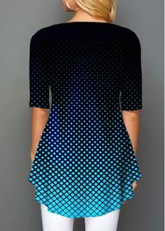 Stylish Tops For Girls, Trendy Tops, Trendy Fashion Tops, Trendy Tops For Women Plaid Outfits, Fashion Outfits, Trendy Fashion, Women's Fashion, Stylish Tops For Women, Affordable Clothes, Polka Dot Print, Printed Blouse, Outfits