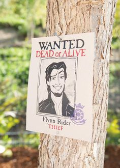 Whimsical Tangled Birthday Party Ideas - flynn - @Carrie Dickerson