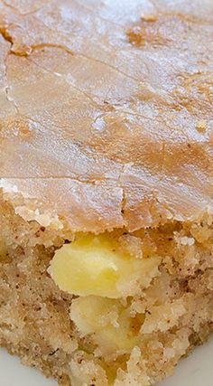 Apple Sheet Cake ~ Super moist and delicious... Made with fresh apples and only few ingredients -Very quick and easy so you need to give a try!
