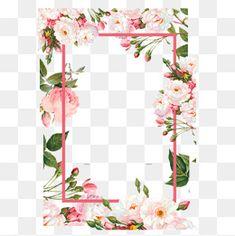 Pink flower borders, Color, Flowers, Frame PNG and Vector Flower Border Png, Flower Frame Png, Flower Circle, Floral Border, Flower Borders, Free Watercolor Flowers, Watercolor Flower Background, Vintage Grunge, Floral Vintage