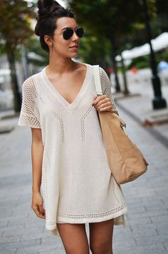 Simple In Nude  #Shirts & Blouses #Leather #Totes