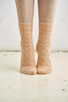 Ravelry: Laverne pattern by Rachel Coopey- ebook of 12 sock patterns Crochet Socks, Knit Or Crochet, Knitting Socks, Hand Knitting, Knitting Needles, Knitting Designs, Knitting Projects, Wool Socks, How To Purl Knit
