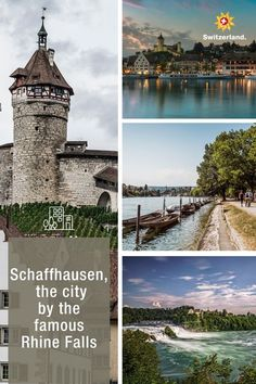 The northernmost city in Switzerland offers more than you think Switzerland Tourism, Black Forest, Old Town, Day Trips, Medieval, Old Things, Urban, Facades, City
