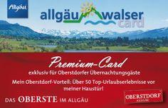 Allgäu Walser Premium Card .... Langzeitparkplätze An diesen Parkplätzen können sowohl Übernachtungs-, als auch Tagesgäste Ihre Autos abstellen - auch für mehrere Tage.