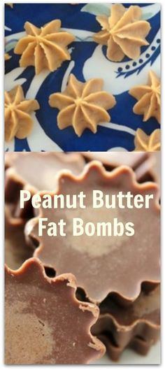 Peanut Butter Fat Bombs  Metabolism Boost: Coconut Oil and Peanut Butter Chips #carbswitch Please Repin Chocolate Peanut Butter Fat Bombs