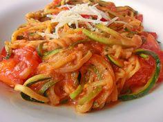 Low carb Rezepte: Zucchini - Spaghetti (low carb)