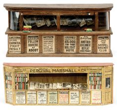 not libraries, but Bookstalls designed for model railway stations