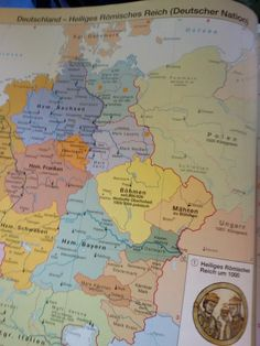 in Antiques  Maps  Atlases   Globes  Europe   Holy Roman Empire     in Antiques  Maps  Atlases   Globes  Europe   Holy Roman Empire   Deutsches  Reich   Pinterest   Holy roman empire and Roman empire
