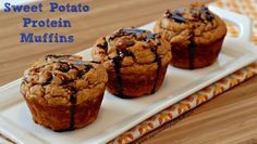 Sweet Potato Protein Muffins - The Kitchen Table - The Eat-Clean Diet®