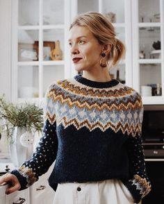 Knitting Charts, Knitting Patterns, Crochet Stitches, Knit Crochet, Fair Isle Pattern, Casual Winter Outfits, Knitwear, Creations, Fashion Outfits