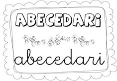 abecedari abecedari