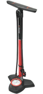 Bike Floor Pumps - Zefal Alloy Profile 180 PSI Floor Bicycle Pump RedBlack -- Check this awesome product by going to the link at the image.