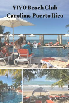 Newly opened in April 2016, VIVO Beach Club is a beach front property in area of Isla Verde, Carolina, Puerto Rico. This beach club is just getting starte