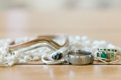Unique engagement rings, organic design & non-diamond rings | Aaron Mallory