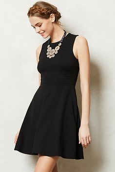 Traveling Dress #anthropologie// You can't have enough little black dresses!