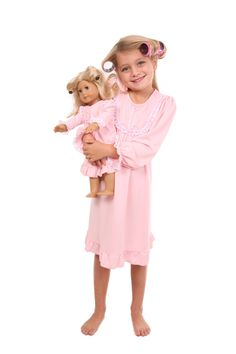 Need one of these for my little girl~  Two Adorable Ruffle Lace Gown in Pink | Two Adorable $68.00