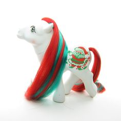 Merry Treat Christmas Holiday My Little Pony Vintage G1 | Brown Eyed Rose
