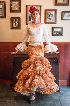 CAMISA de Flamenca - Zl14-05.  La falda pa morirse