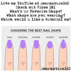 What's ur favorite nail shape?