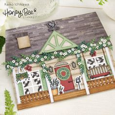Anniversary Release – Sneak Peeks Day Four : Honey Bee Stamps Paper Craft Supplies, Paper Crafts, Paper Art, Set Honey, Honey Bee Stamps, Chicken Tractors, Bee Cards, Custom Stamps, Paper Cutting