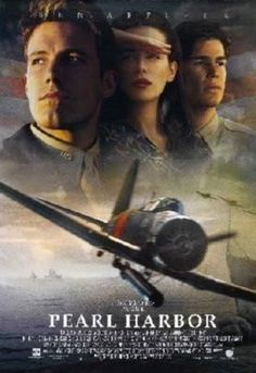 Pearl Harbor Movie poster Metal Sign Wall Art 8in x 12in